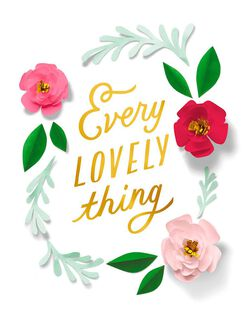 Every Lovely Thing Mother's Day Card,