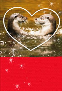 Significant Otter Funny Sweetest Day Card,
