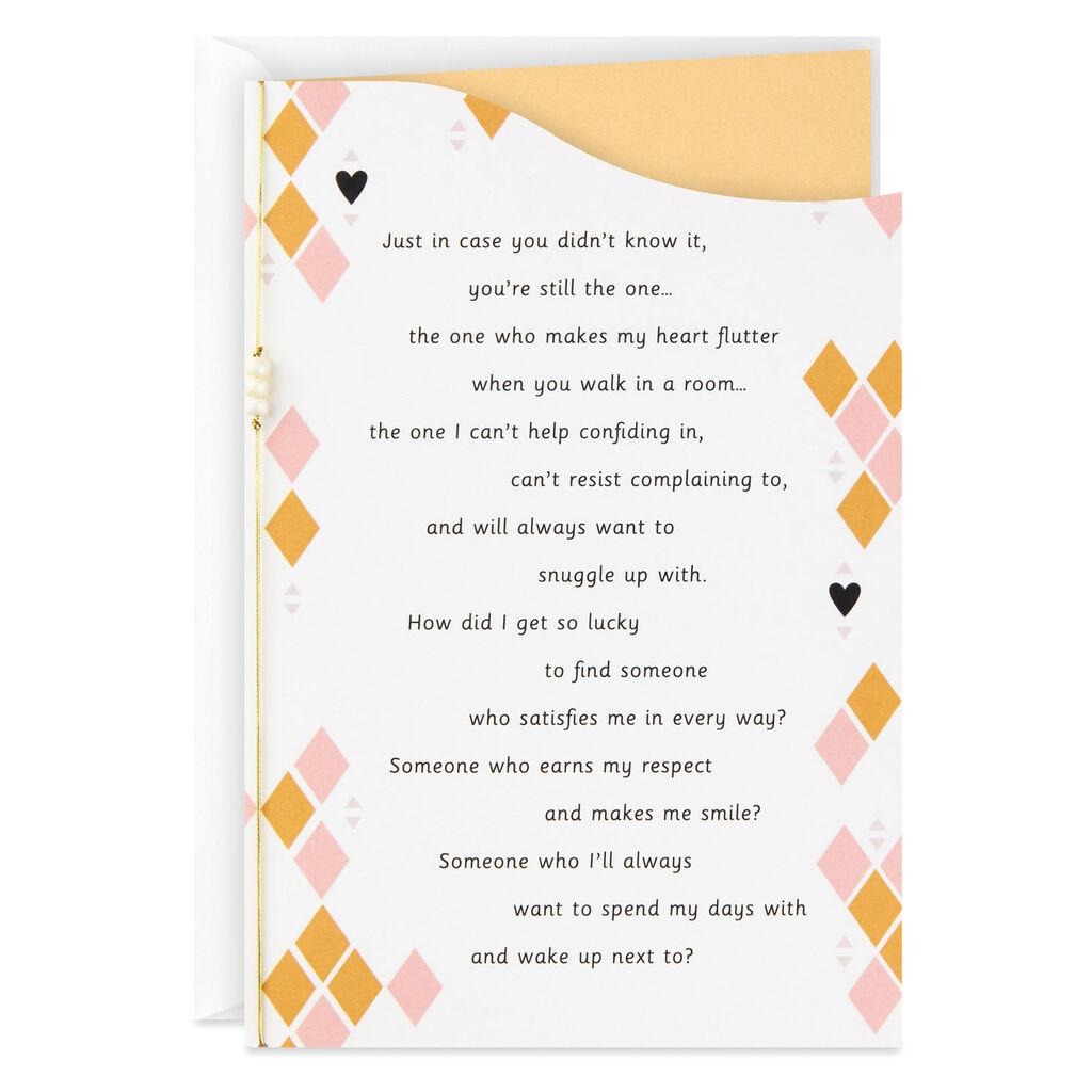 You Make My Heart Flutter Anniversary Card