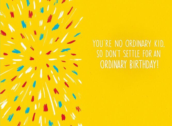 Kid President Extraordinary Celebration Kids Birthday Card – Birthday Cards from the President