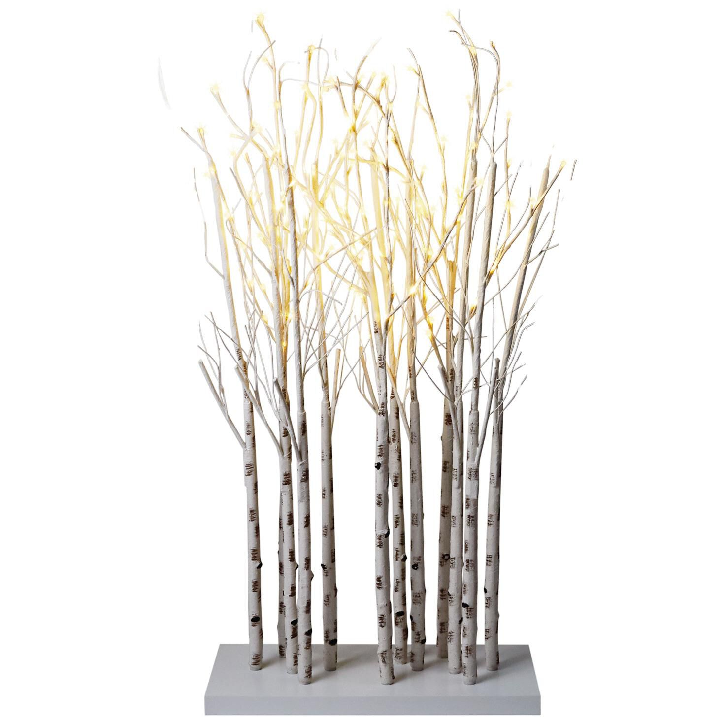 Birch Tree Branches Lighted Decor, 47\
