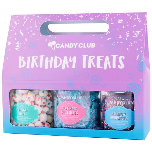 Candy Club Birthday Treats Jars Gift Box