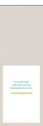 Loyal Subjects Baby Congratulations Card,