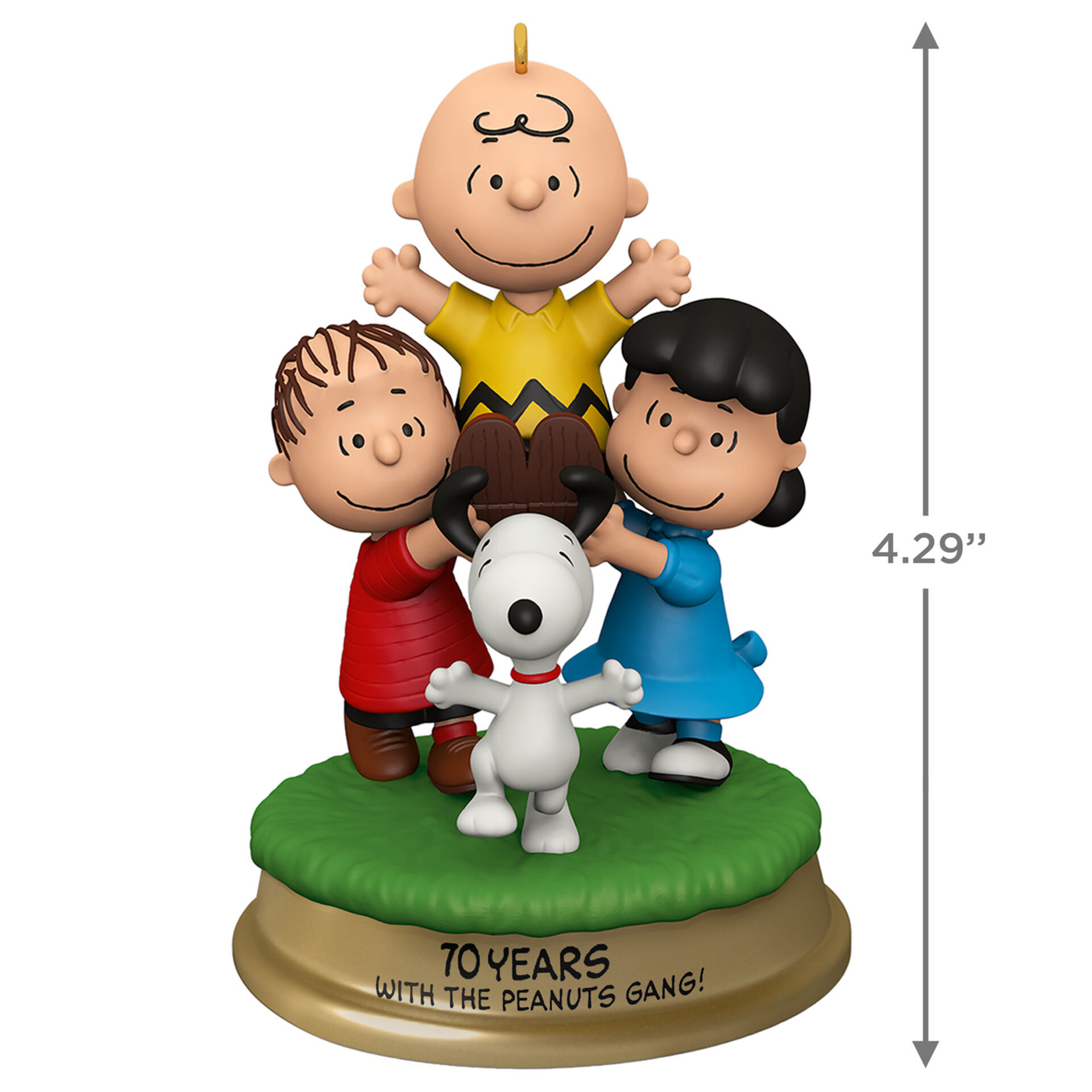 : The Peanuts Gang 2016 Hallmark ornament w-box Charlie Brown Trick or Treat?