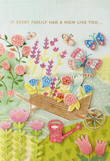 Garden Delights Mother's Day Card,