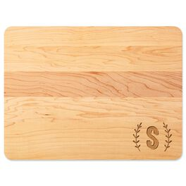Single Monogram Home As Brand Personalized Wood Cutting Board, , large