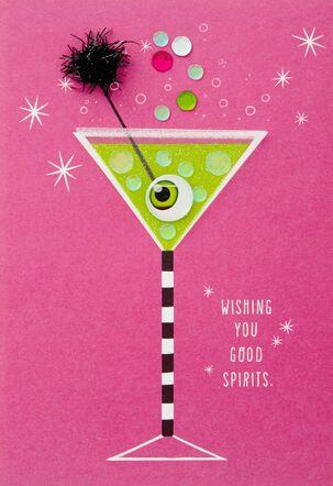 Good Spirits Halloween Card