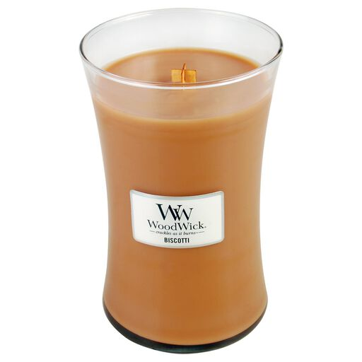 WoodWickR Biscotti Large Candle 22 Oz