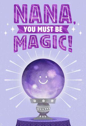 You're Magic! Grandparents Day Card for Nana
