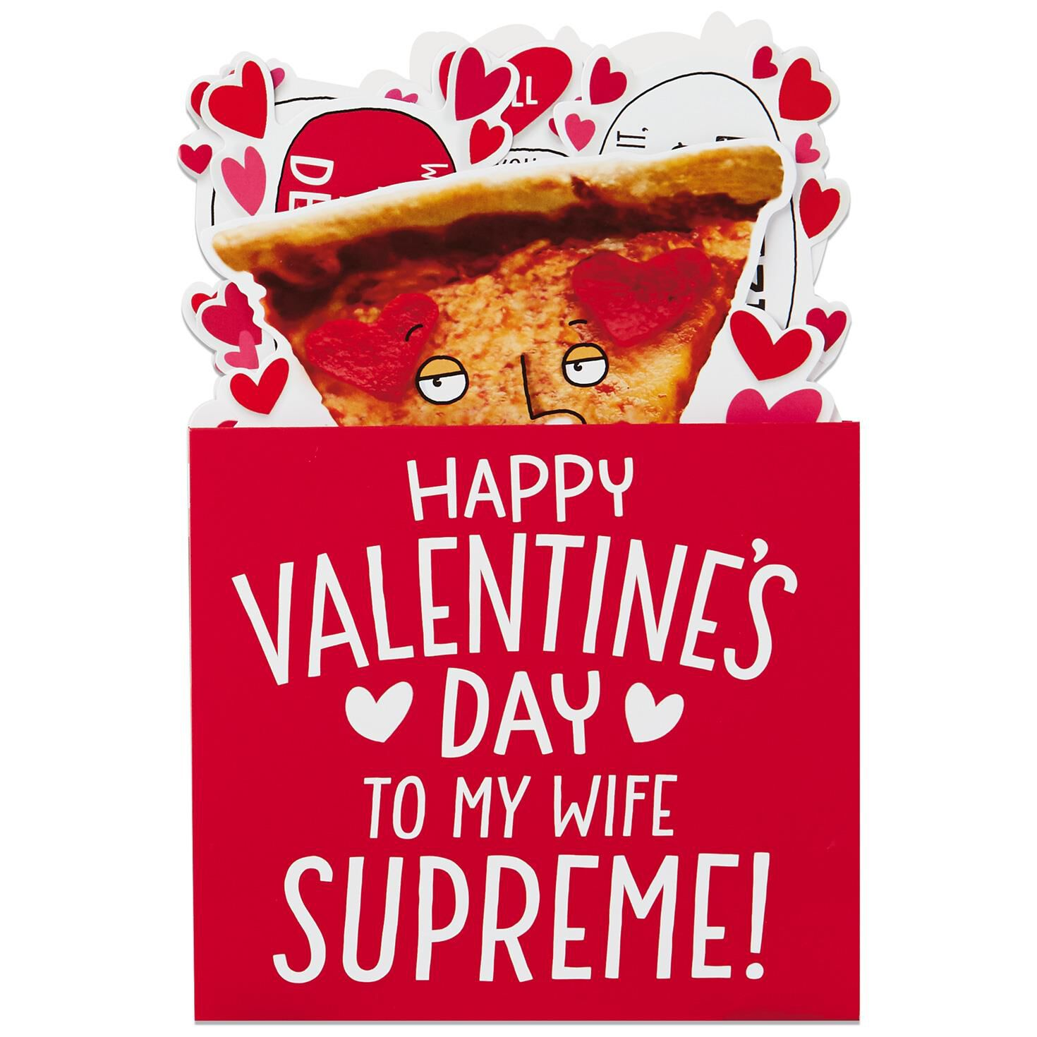 Pizza Pop Up Valentineu0027s Day Card For ...