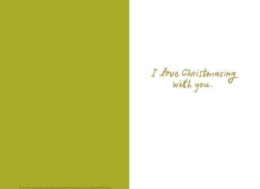 Bring On the Mistletoe Christmas Card,