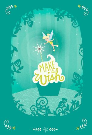 Make a Wish, Daughter Tinker Bell Birthday Card