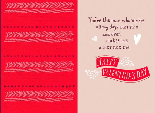 You're the Man Valentine's Day Card,