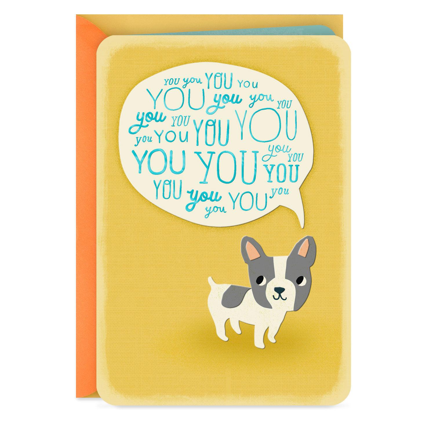 Hallmark Son Christmas Card /'Thinking of You/' Medium