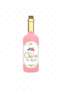 Cheers to You! Mother's Day Card,