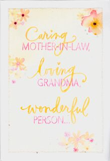 Mothers day cards hallmark caring mother in law loving grandma mothers day card m4hsunfo