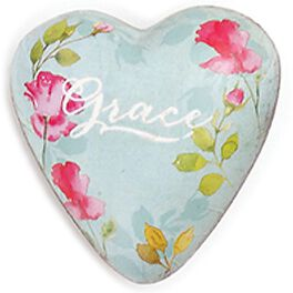 Grace Art Heart Token, 1.5x1.5, , large