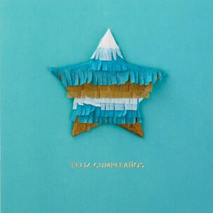 Lleno de Sorpresas Spanish Language Birthday Card