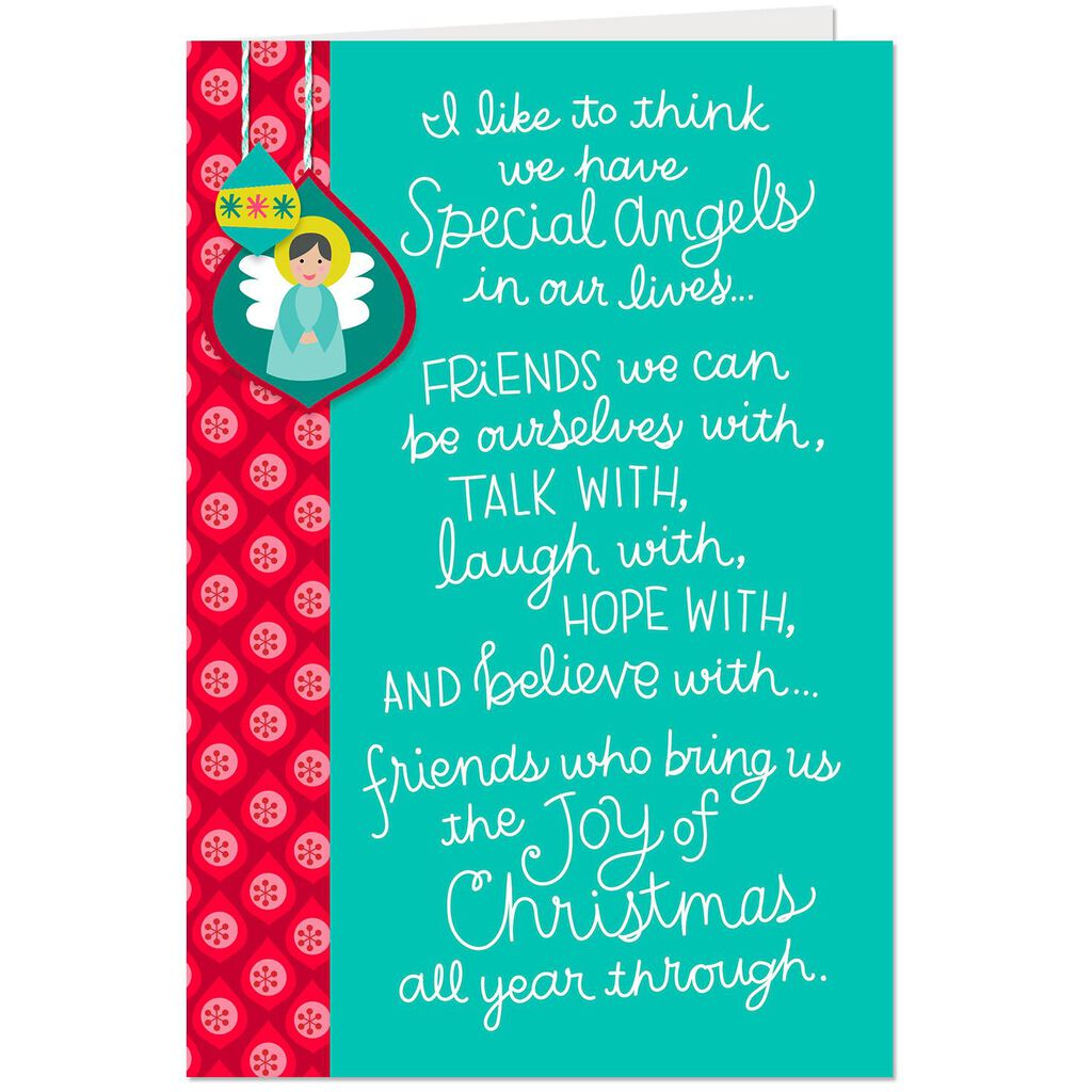 Special Angel Christmas Card For Friend Greeting Cards Hallmark