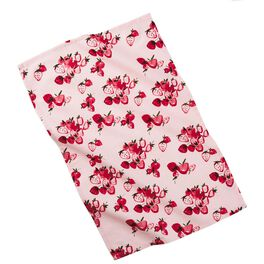 Pink Strawberry Tea Towel, , large
