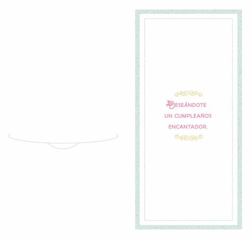 Gowns and Crowns Spanish-Language Money Holder Quinceañera Card,