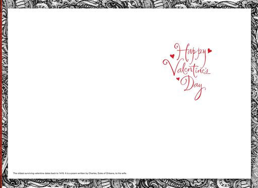 UNICEF Simply Romantic Valentine's Day Card,