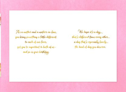 Rose Wreath Birthday Card For Mom From Couple
