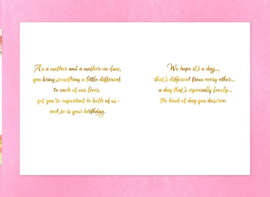 Rose Wreath Birthday Card For Mom From Couple Greeting Cards
