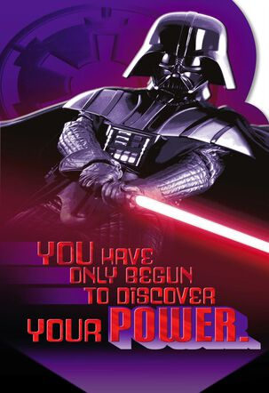 Star Wars™ Darth Vader™ Valentine's Day Card With Link'emz Wristband