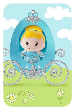 Cinderella itty bittys® Greetings Easter Card