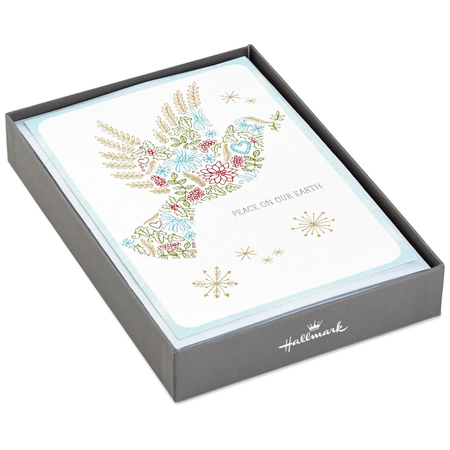 Dove of Peace Christmas Cards, Box of 16 - Boxed Cards - Hallmark