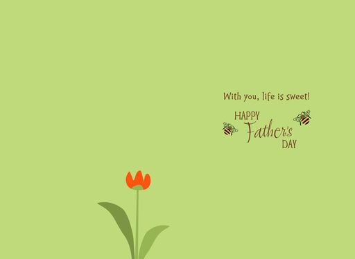 UNICEF Honeybee Father's Day Card for Husband,