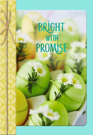 Bright With Promise Easter Card