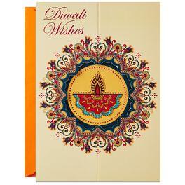Joy and Light Diwali Card, , large