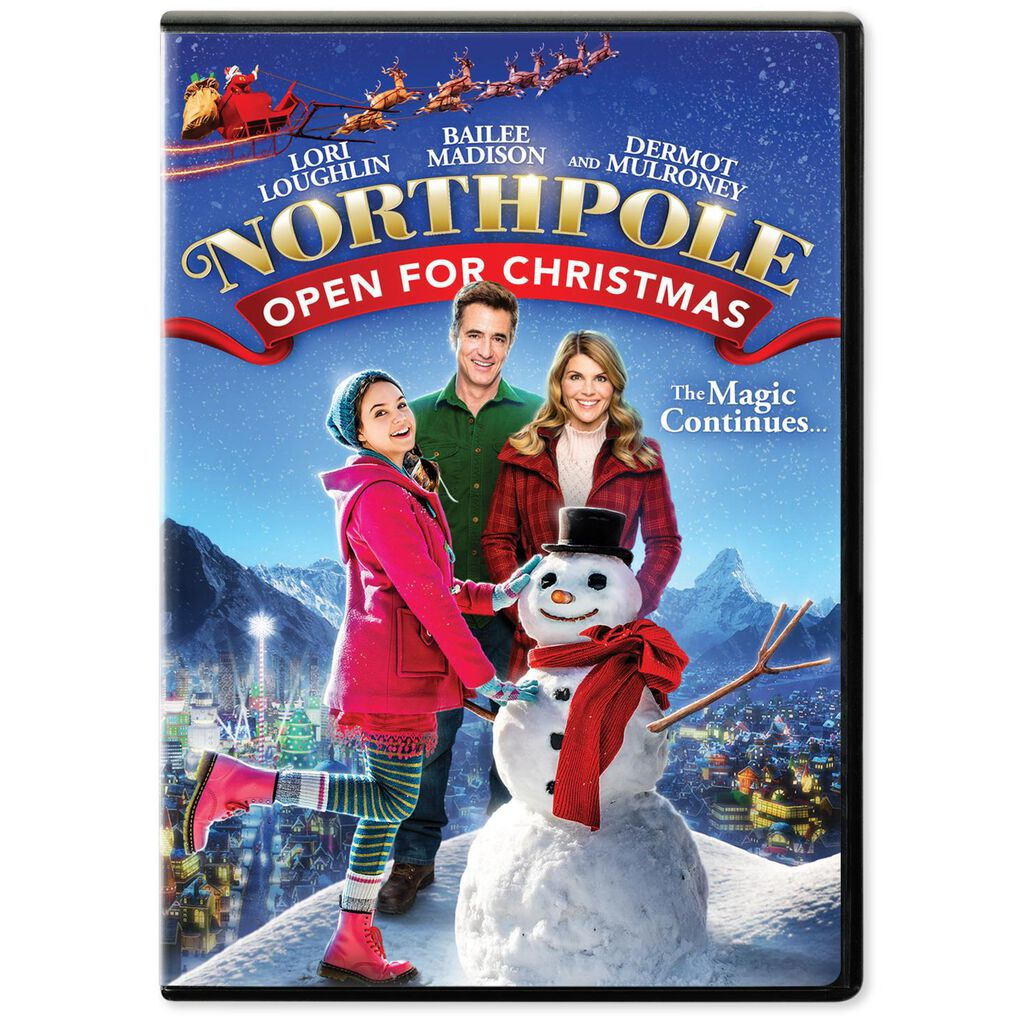 northpole open for christmas | Christmaswalls.co