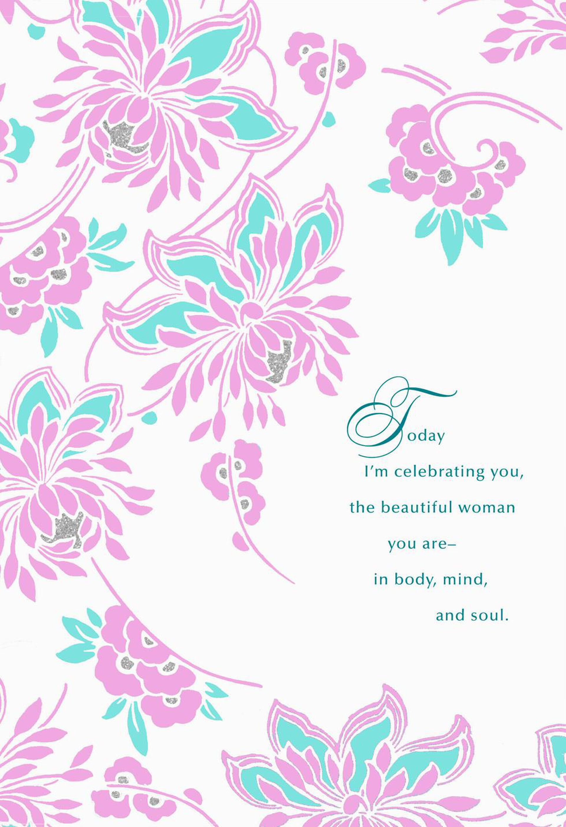 You Inspire and Surprise Me Romantic Birthday Card for Her