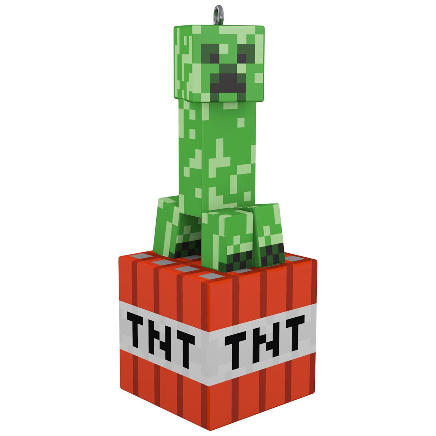 Minecraft Creeper Ornament Keepsake Ornaments Hallmark