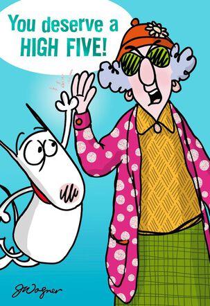 High Praise Funny Congratulations Card