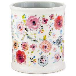 Haute Girls™ Floral Ceramic Pencil Cup, , large