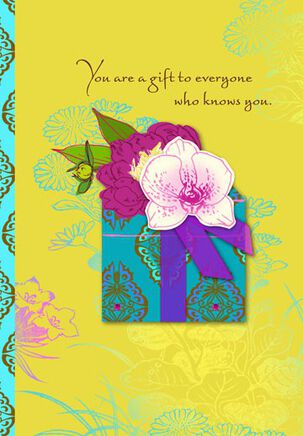You Are a Gift Birthday Card