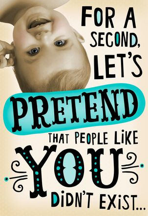 Lost Without You Funny Admin Professionals Day Card