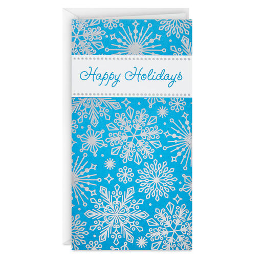 """From Our Happy Home Hallmark Holiday 4/"""" X 6/"""" Photo Holder Cards Box of 12"""
