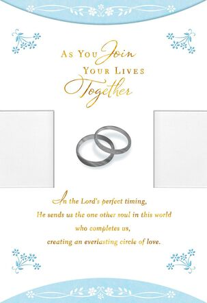 You Are Blessed Religious Wedding Card