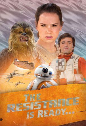 Star Wars™ Resistance Heroes Birthday Card
