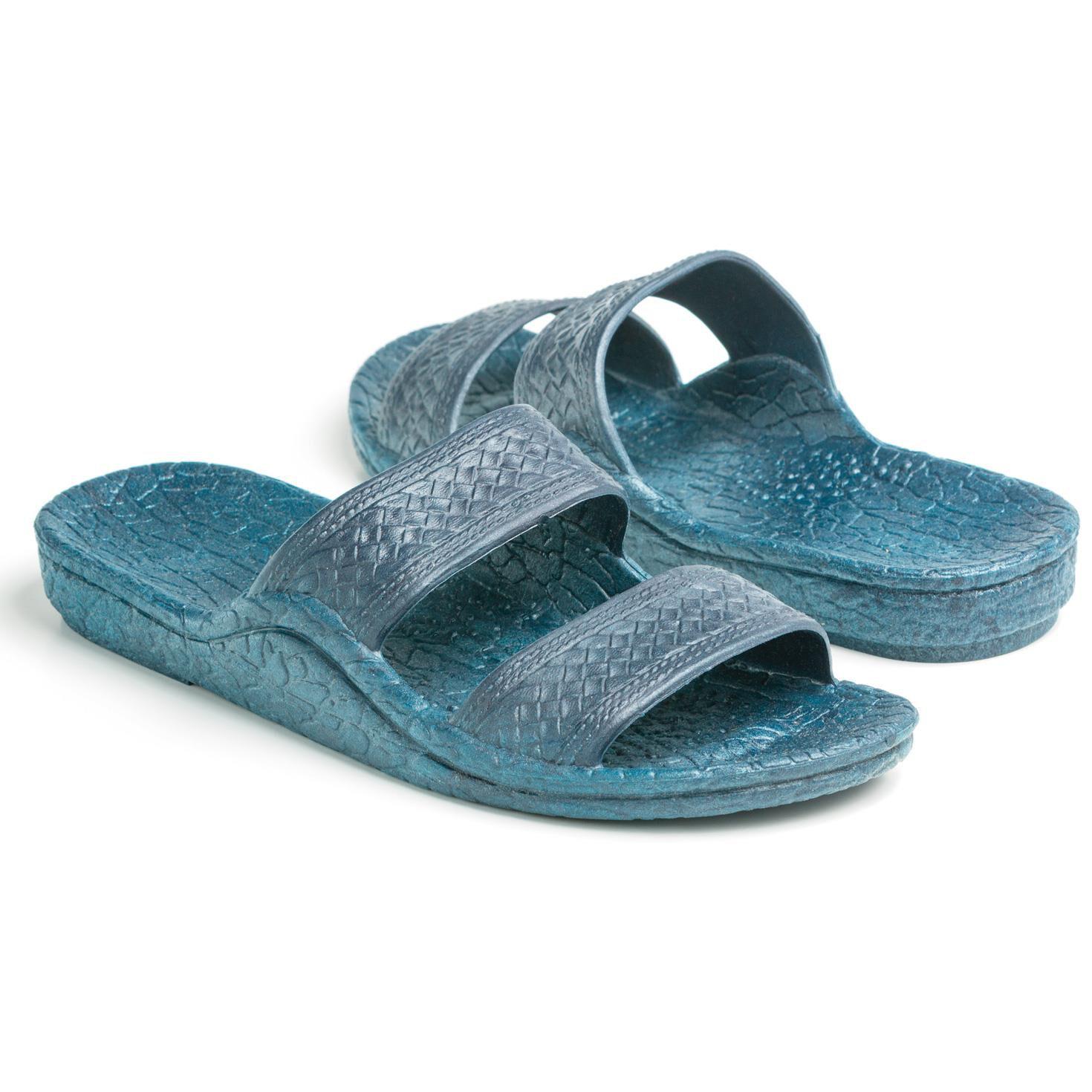 224dcce9a592 Pali Hawaii® Navy Jesus Jandal Sandal