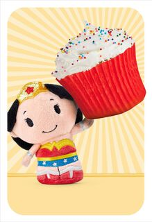 itty bittys® Wonder Woman™ Amazing Compliment Birthday Card,