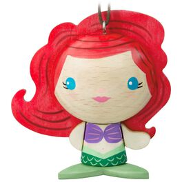 The Little Mermaid Ariel Wood Ornament, , large