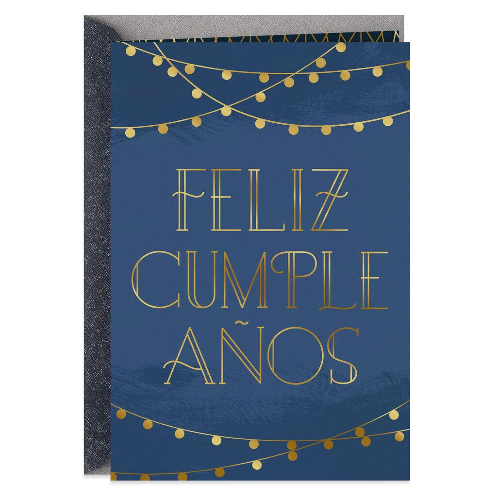 Whatever Makes You Smile Spanish Language Birthday Card