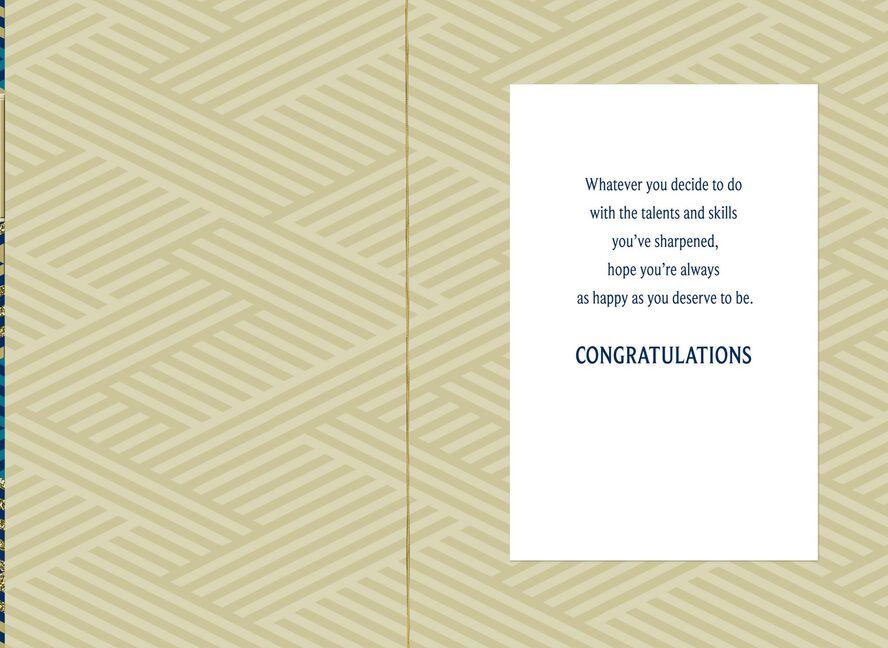 Criss Cross Congratulations Graduation Card Greeting Cards Hallmark