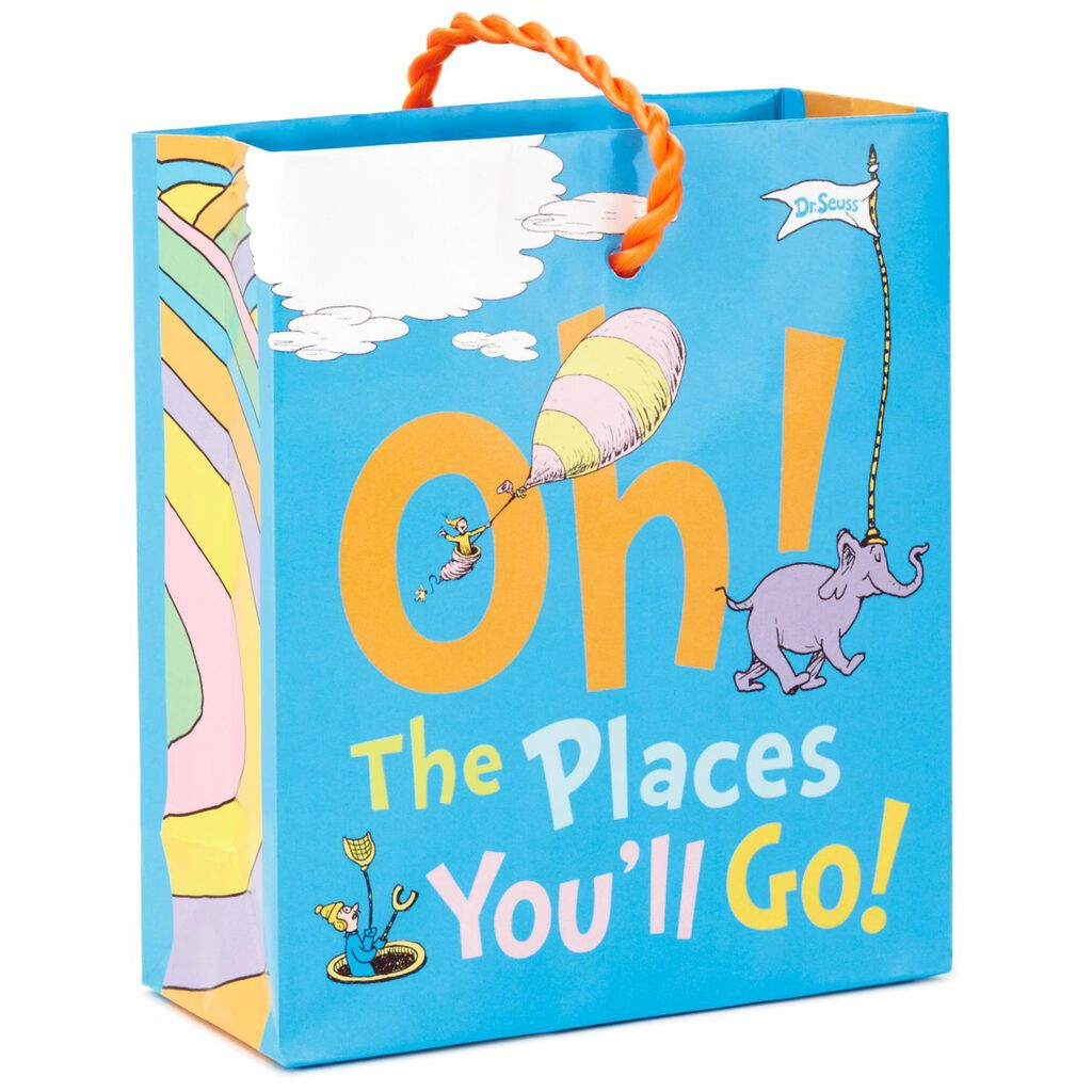 Dr Seuss Places You Ll Go Gift Card Holder Mini Bag